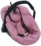 Bayer Chic 2000 708 70 Puppen-Autositz für Baby-Puppen, Jeans Rosa