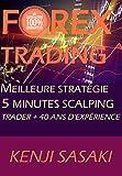 FOREX TRADING MEILLEURE STRATÉGIE DE SCALPING 5 MINUTES: Trader Avec Plus de 40 Ans D'Expérience, Commerce Intraday (French Edition)