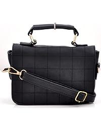 OranGey Fashion - Black Designer Hand-held Sling Bag