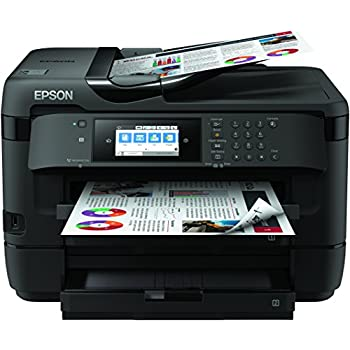 Epson Workforce WF-7720DTWF - Impresora, Color Negro, Ya Disponible en Amazon Dash Replenishment