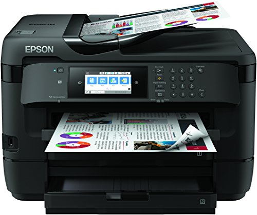 Epson Workforce WF-7720DTWF - Impresora, Color Negro