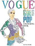 Vogue Colouring Book Amazoncouk Iain R Webb Books