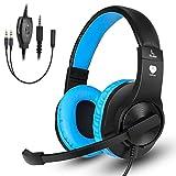 BUTFULAKE Gaming Headset, Audio Stereo Bass mit Mikrofon, Leichtgewicht Kopfh�rer f�r PS4, Nintendo Switch, Xbox one, Laptops, PC, Smartphone Bild