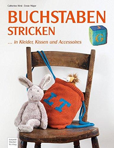 Buchstaben stricken: ... in Kleider, Kissen & Accessoires (Stricken Kissen)
