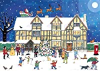 Alison Gardiner Traditional Advent Calendar: Christmas at the Old Town House