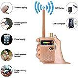 eoqo Kabellos RF Sinaldetektor,1,2G/2,4G Erkenung RF Signaldetektor No Bug Get Away 1MHz-8000MHz,Wireless Signal Detector Mini Detektor