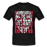 Spreadshirt Anonymous We Are Legion Männer T-Shirt, XL, Schwarz