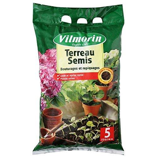 VILMORIN Terreau semis bouturages et repiquages - 5 L