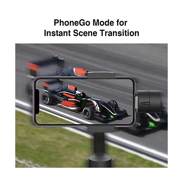 3-Axis Gimbal Stabilizer for Smartphone - Hohem iPhone Gimbal Stabilizer with Face Tracking Motion Time-Lapse APP… 6