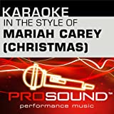 O Holy Night (Karaoke Lead Vocal Demo)[In the style of Mariah Carey]