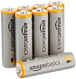 #7: AmazonBasics AA Performance Alkaline Batteries (8-Pack) - Packaging May Vary