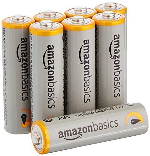 AmazonBasics Performance Batterien Alkali, AA, 8 Stück (Design Kann von Darstellung abweichen)