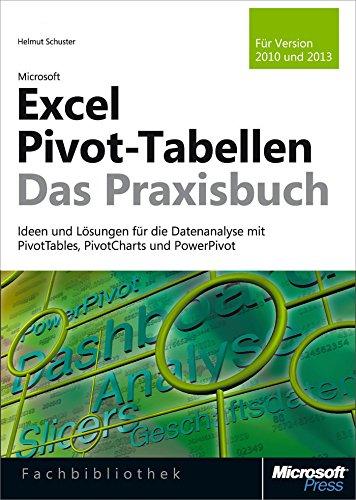 Microsoft Excel Pivot-Tabellen - Das Praxisbuch. Für Version 2010 und 2013: Ideen und Lösungen für die Datenanalyse mit PivotTables, PivotCharts und PowerPivot