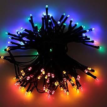 Lixada Solar-powered Waterproof LED Fairy String Lights for Christmas Decoration