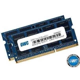 16GB OWC 2400MHz PC4-19200 DDR4 CL17 SO-DIMM Memory Kit (2 x 8GB)