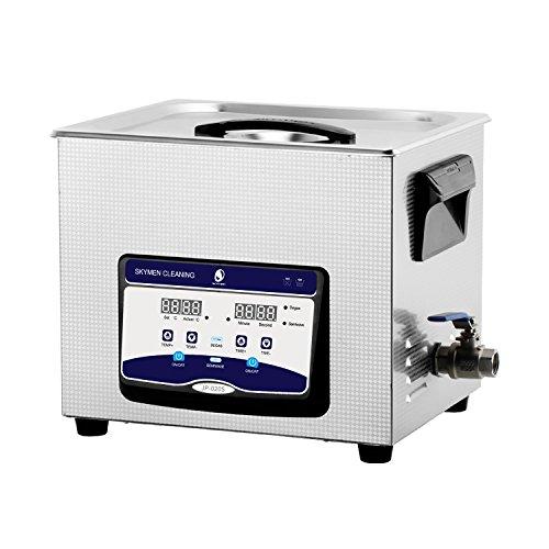 Ultraschallreinigungsgerät SKYMEN 10L Ultraschallreiniger Ultraschall reinigung Metallteile Leiterplatte Druckerkopf Auto Zubehör,Ultraschallgerät mit Heizungs Zeiteinstellung Entgasen funktion
