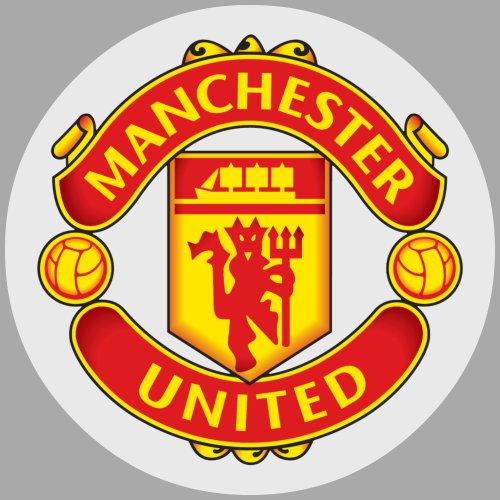 Tortenaufleger Tortenfoto Aufleger Foto Bild Fußball Manchester rund ca. 20 cm *NEU*OVP*