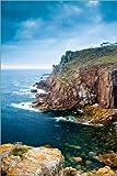 Poster 60 x 90 cm: Ende der Welt - Penzance, Cornwall von