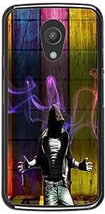 PrintVisa Music Dance Pattern Case Cover for Motorola Moto G2 (2nd Gen.)
