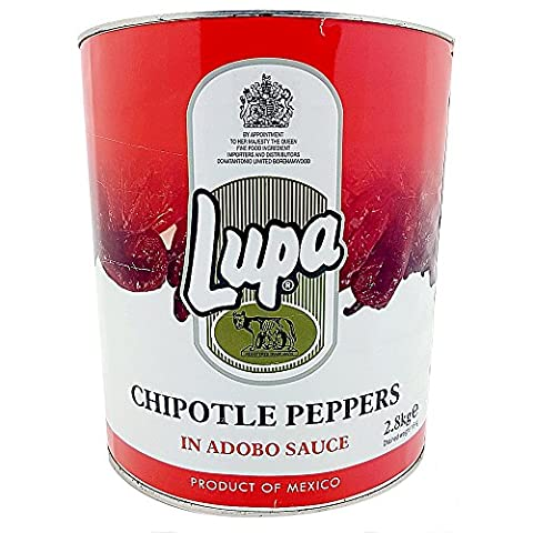 Lupa Chilpotle Peppers Plus Adobo Sauce Smokey BBQ Sauce 2.8 Kg