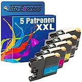 PlatinumSerie® 5x Druckerpatrone XXL kompatibel für Brother LC223 LC225 LC227 MFC-J 4425 DW MFC-J 4620 DW MFC-J 4625 DW MFC-J 5320 DW MFC-J 5600 Series