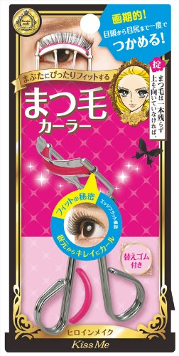 Isehan Kiss Me heroine make | Eye Make | Eyelash Curler w/ Spare Rubber x 2 (...