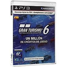 Sony - Tarjeta PSN GT6 - 1 Millón De Créditos (PS3)
