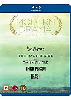 Modern Drama Collection 5-Disc Set ( Boyhood / The Danish Girl / The Water Diviner / Third Person / Trash ) (Blu-Ray)