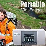Cenblue Mini wiederaufladbare tragbare Insulin-Kühlbox LCD-Display 2-8 °C - Medizin-Kühlschrank und Insulin für Auto, Reisen, Haus