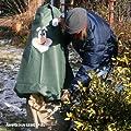 Videx-Winterschutz Vlieshaube Gartenzwerg Set Seppi, grün, 160 x 130cm von Videx - Du und dein Garten