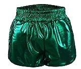 Sexy Shorts Clubwear Party Kleid Damen Hot Pants Booty Pantys Clubbing Unterwäsche Schwarz Im Wetlook Lack Leder Design Lederoptik