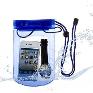 Etui Housse Etanche Waterproof Sony Xperia E3 - Bleu