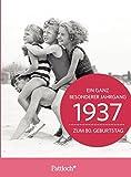 1937 - Ein ganz besonderer Jahrgang Zum 80. Geburtstag: Jahrgangs-Heftchen mit Kuvert