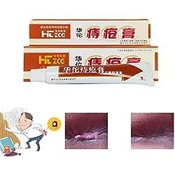 Hemorrhoid Treatment, Surenhap Hua Tuo - Hämorrhoiden Salbe Creme aus natürliche pflanzliche Kräuter für Analfissuren heilen, Bakterien hemmen, Hautinfektionen behandeln, Innere/ Externe Hämorrhoiden 25ml