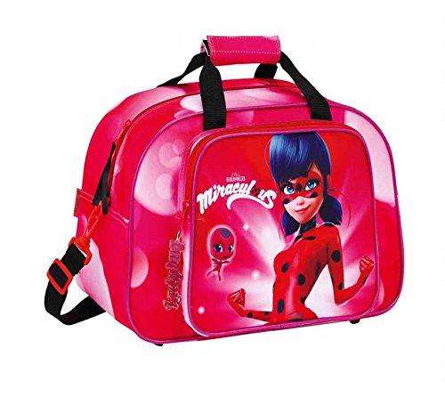 Safta Bolsa De Deporte Ladybug 'Marinette' Oficial 400x230x240mm