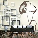 YUANLINGWEI Wandbild Tapete Benutzerdefinierte 3D Wandbilder Minimalistische Interieur Tapete Umweltfreundlich Große Wandbilder Tv Hintergrund Küche,230Cm (H) X 310Cm (W)