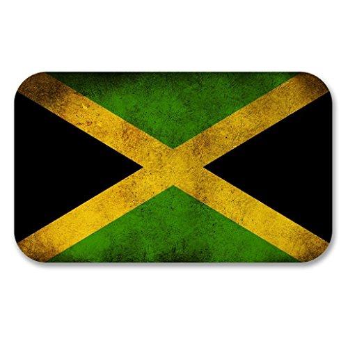 Preisvergleich Produktbild 2x Jamaica Jamaika Flagge Vinyl Aufkleber Aufkleber Laptop Reise Gepäck Auto Ipad Schild Fun # 6186 - 20cm/200mm Wide
