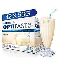 Optifast Very Low Calorie Diet Shake Vanilla Flavor, 636g