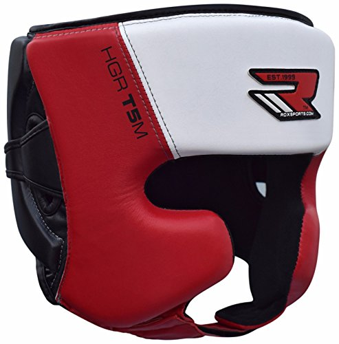 RDX Cascos Boxeo MMA Sparring Kickboxing Protector Casco Entrenamiento Lucha