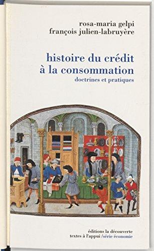 Lire Une histoire du crédit à la consommation pdf