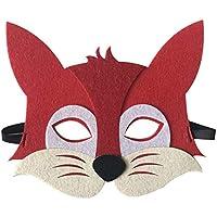 Li_unmio Máscaras Decorativas Lindas de la Moda y del Ambiente de los niños Animales de los niños máscara Decorativa Linda (E)