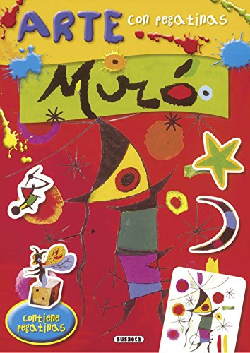 Miró (Arte con pegatinas) por José Morán