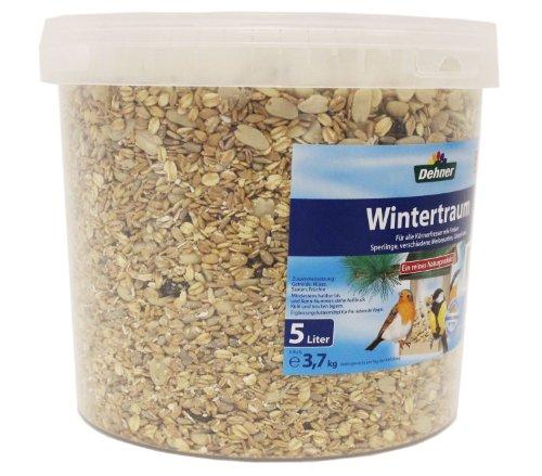 Dehner Wildvogelfutter, Wintertraum, im Eimer, 5 l (3.7 kg) -