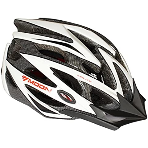 Moon Special Ultralight Adult Sport Cycling Helmet In-Mold Tech,Mountain MTB&Road Dual Purpose with Removable Visor,Lightweight Design,EPS£¨Unisex Women Men£[9.7 oz][21 vent]