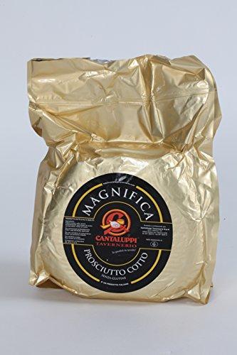 CANTALUPPI - Prosciutto Cotto Magnifica - Alta qualità (9 kg.circa) - Maiale Cotto
