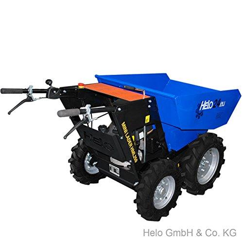 HELO Mini Dumper HML 250-N, motorisiert, allrad-angetrieben, mit 250 kg Trägermulde - 2