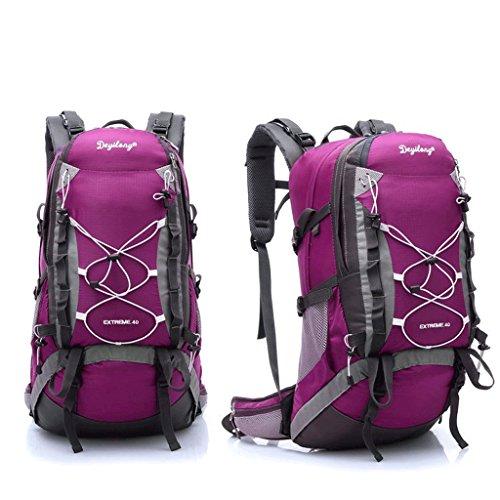 Pathfinder pioniere sacchetto di alpinismo borsa zaino trekking esterno per inviare parapioggia sistema di trasporto staccabile rosa