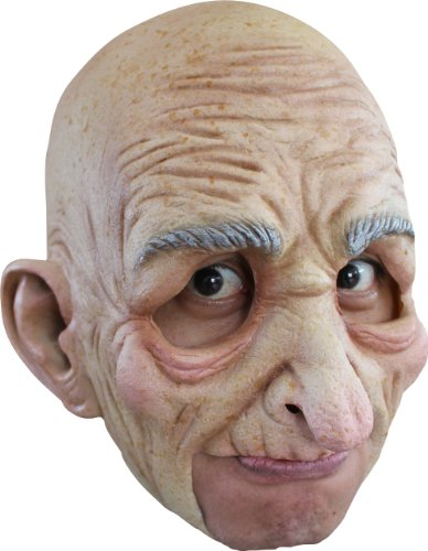 Generique - Masque vieil homme adulte Halloween