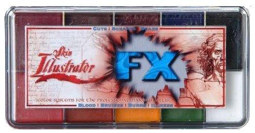Haut Illustrator FX Makeup-Palette PPI Premiere Produkte Inc Alkohol aktiviert