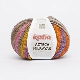 Katia Azteca Milrayas - Farbe: Naranjas/Ocres (705) - 100 g / ca. 180 m Wolle